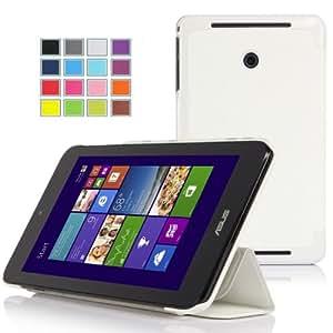 IVSO Slim Smart Cover Housse pour ASUS VivoTab Note 8 (M80TA) Windows 8.1 Tablette (Blanc)