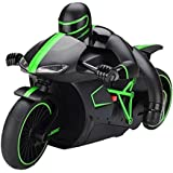 The Flyer's Bay Professional High Speed 2.4 GHz RC Motorcycle Bike With Built In Gyroscope & Bright LED Headlights...