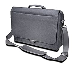 Kensington K62623WW LM340 Messenger Bag for 14.4-inch Laptop (Grey)