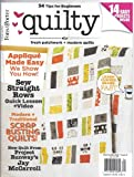 img - for Quilty Magazine (May/June 2013) book / textbook / text book