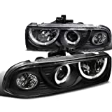 Chevy S10 Pick Up Ss Ls Zr2 Blazer Black Halo Projector Headlights