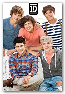 One Direction - Bench 24x36 Art Print Poster by Scorpio Posters