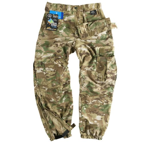 Helikon Military Soft Shell Cargo Trousers Combat Pants Mens MultiCam Camo