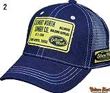 【Culture Mart】デニムメッシュキャップお洒落なアメカジ野球帽子通販【2 】