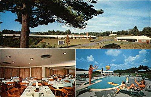 Perkins Motel and Restaurant Littleton, New Hampshire Original Vintage Postcard (Perkins Restaurant Cards compare prices)
