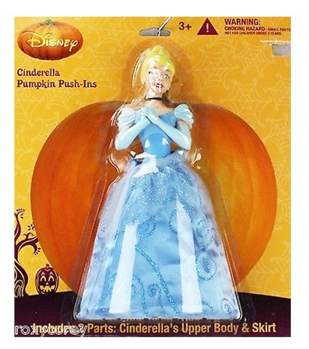 Disney - Pumpkin Push-Ins - Cinderella - 1