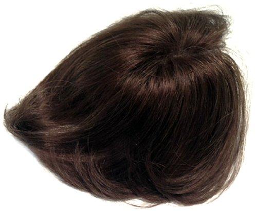 フェアリーウィッグ ナチュラルタイプ 人毛100% ダークブラウン