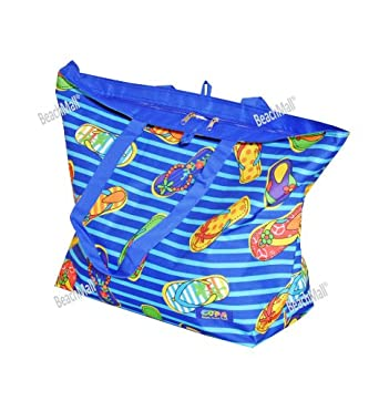 Oversized Beach / Pool Tote - Platinum Series with Zipper / Pocket (301)