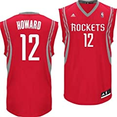 Houston Rockets NBA Dwight Howard #12 Youth Alternate Replica Jersey YLG by adidas