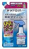トップ ハイジア 消臭・芳香剤 除菌・消臭スプレー つめかえ用 320mL