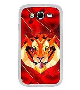 Tiger 2D Hard Polycarbonate Designer Back Case Cover for Samsung Galaxy Grand I9082 :: Samsung Galaxy Grand Z I9082Z
