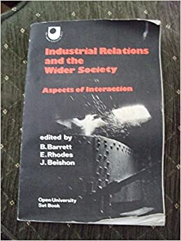 aspects of industrial relations Journal of asian scientific  harmonious industrial relations as a panacea for ailing enterprises in nigeria osamwonyi  various aspects.