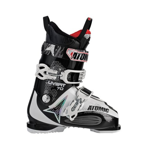 Atomic 2012 Live Fit LF 70 Ski Boots Black/White 28.0