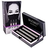 DUCHESS by SHANY - Set of 3 Waterproof Liquid Eyeliners with Paraben-free Formula and Aloe Vera - Precision Collection