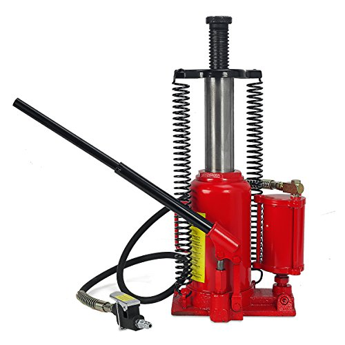 20 Ton Air Hydraulic Bottle Jack Manual Lifts Hoist (20 Ton Air Jack compare prices)