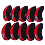 HDE Set of 10 Neoprene Golf Club Iron...