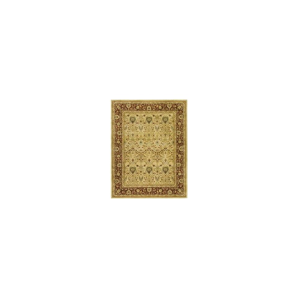 Safavieh PL819D SC Persian Legend Ivory/Rust Rug Rug Size