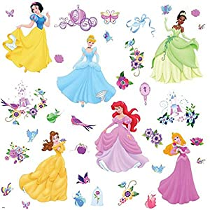 RoomMates Disney Princesses Wall Stickers by RoomMates