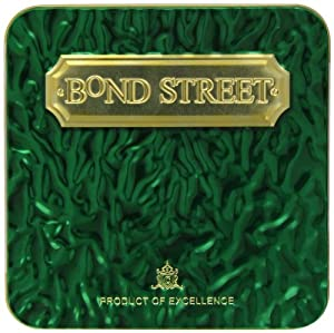 Bond Street Emerald Tin with Chocolate Peppermint Creams 300 g