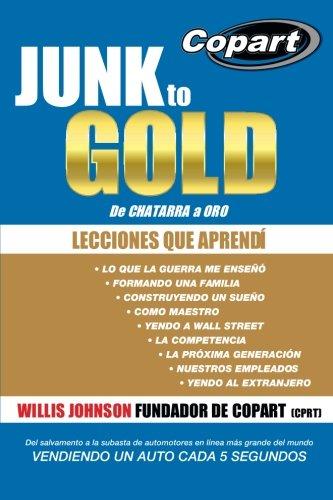 Junk to Gold, De CHATARRA a ORO: Del salvamento a la subasta de automotores en línea más grande del mundo VENDIENDO UN AUTO CADA 5 SEGUNDOS (Spanish Edition)