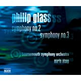 Philip Glass : symphonies n° 2 et n° 3