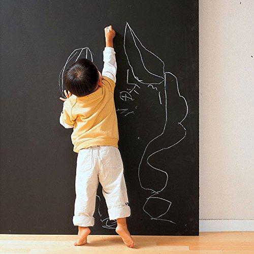 GreenForest Tafel Kontakt Papier f¨¹r B¨¹ro oder Kinder Tafel Decals Dienstprogramm Wall Decals mit 5 Farb-Stifte 45*200cm/17.7*78.7inches jetzt kaufen