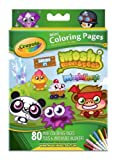 Crayola Moshi Monsters Mini Colouring Pages With 6 Washable Markers