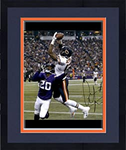 Framed Alshon Jeffery Chicago Bears Autographed 16