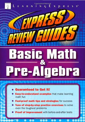 Express Review Guide Basic Math and Pre Algebra