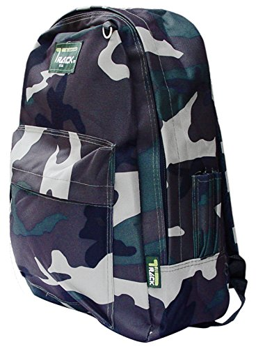 Durable Camo Camouflage School Backpack