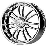 "Helo HE845 Triple Chrome Plated Wheel (20x8.5""/5x115, 120mm, +42mm offset)"