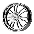 Helo HE845 Chrome Wheel - (17x7.5/5x115, 120mm)