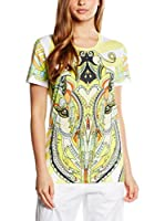 Just Cavalli Camiseta Manga Corta (Amarillo / Multicolor)
