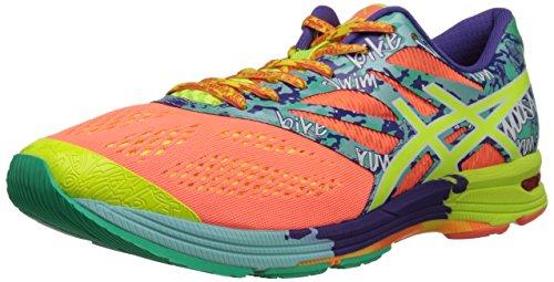 ASICS Women's Gel-Noosa Tri 10 Running Shoe,Flash Coral/Flash Yellow/Ice Blue,10 M US