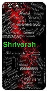 Shrivarah (Lord Vishnu) Name & Sign Printed All over customize & Personalized!! Protective back cover for your Smart Phone : Samsung Galaxy E5