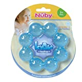 Nuby Pur Ice Bite Soother Ring Teether, Colors May Vary