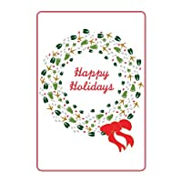 Animal Tracks Holiday Cards - 24 Pack