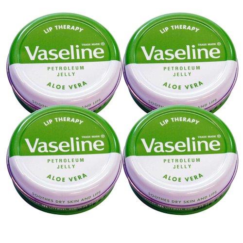 Vaseline Lip Therapy ヴァセリン 20g Aloe 4個セット 4pcs set