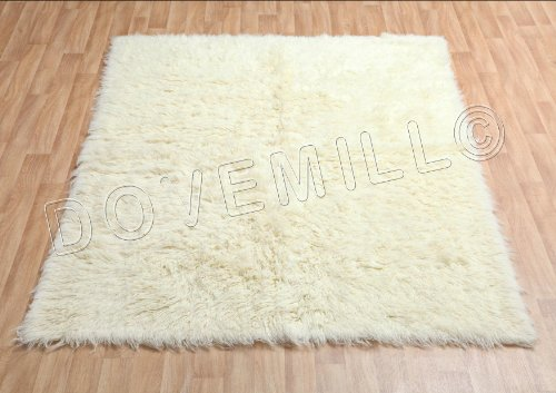 Modern Approx 6x4 120x170cm Woven Backed Pugs Rug Sale Top Quality Beiges//Cream