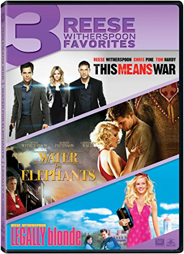 This Means War / Water for Elephants / Legally Blonde Triple Feature