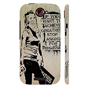 HTC ONE S BREAK FREE designer mobile hard shell case by Enthopia