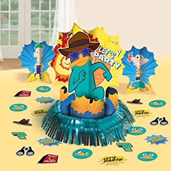 Phineas & Ferb Themed 1 Large Centerpiece - 12.6