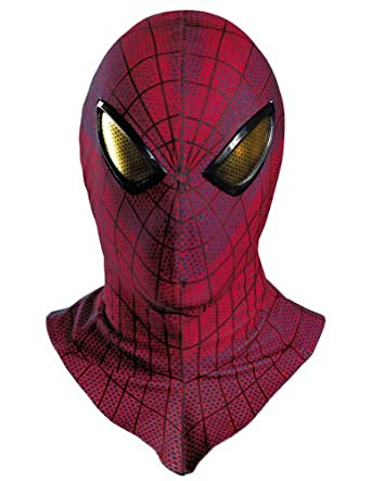 Spider-Man Movie Adult Costume Deluxe Mask Halloween Costume