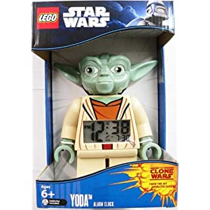 Yoda Star Wars LEGO Alarm Clock
