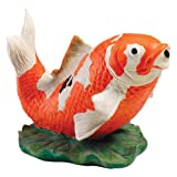 Design Toscano EU59307 Kohaku Asian Koi Piped Spitter Statue
