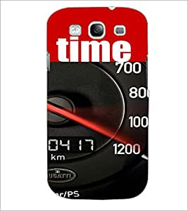 PrintDhaba Meter D-4118 Back Case Cover for SAMSUNG GALAXY S3 (Multi-Coloured)