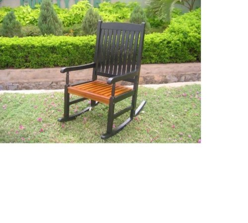 rocking chair w uv black finish cheap patio furniture sets