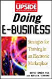 img - for Doing E-Business: Strategies for Thriving in an Electronic Marketplace (Upside) book / textbook / text book