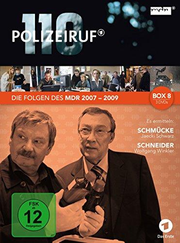 Polizeiruf 110 - MDR Box 8 [3 DVDs]