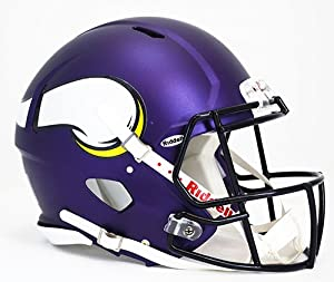 NFL Minnesota Vikings Speed Authentic Helmet by Riddell